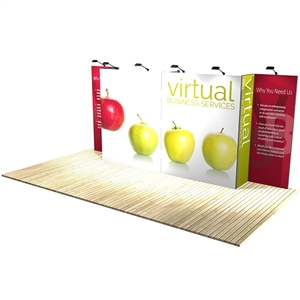 Trade Show Displays: Vector Frame 7 Display Stand [Kit]