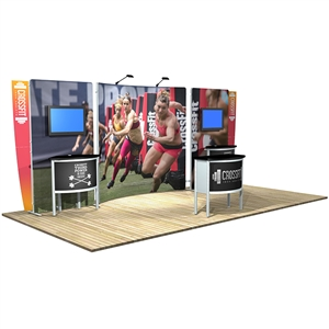 Trade Show Displays: Vector Frame 22 Display [Kit]  [Complete]