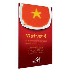 Vector Frame Fabric Poster Display R-04