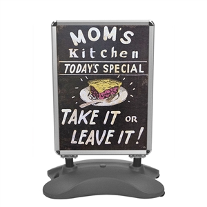 Outdoor Displays: Whirlwind Outdoor Sidewalk Sign [Graphics Only]
