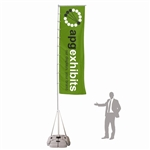 Outdoor Displays: Wind Dancer 17.4' Outdoor Flag Pole [Complete]