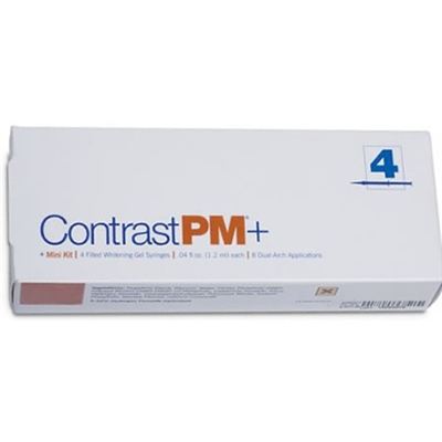 Contrast Pm Plus 15% Carbamide Peroxide Whitening Gel 4 Pack