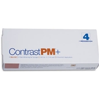 Contrast Pm Plus 20% Carbamide Peroxide Whitening Gel 4 Pack