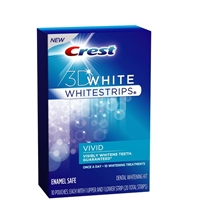 Crest 3D Whitestrips Vivid Teeth Whitening