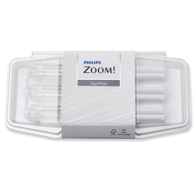 Philips Zoom Daywhite 9.5% Teeth Whitening Gel 3 Pack