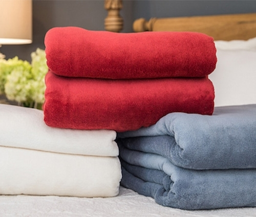 Plush Throw Blankets: Supple Touch Fleece Throws