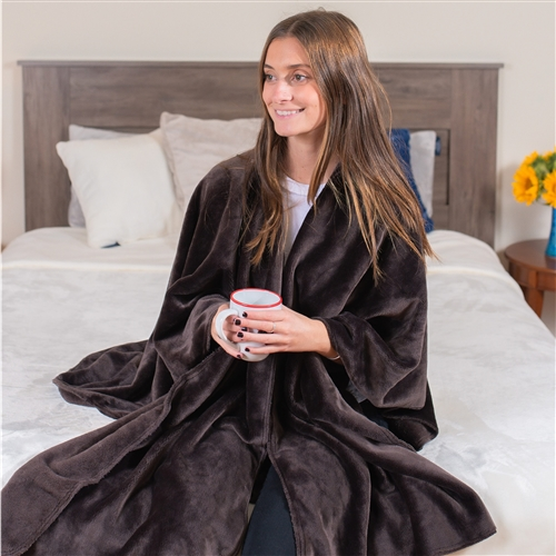 Softest fleece blanket wrap made in America from our Luster Loft fleece