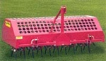 AgriMetal Tractor 3 point Hitch Turf Core Aerator, Plugger FA600TP