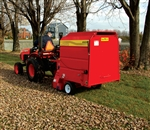AgriMetal Leaf & Debris Collector, Sweeper/Vac, Model 4413, tow behind