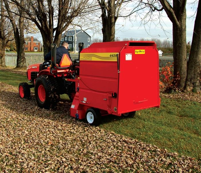 Agrimetal Leaf Amp Debris Collector Sweeper Vac Model 4420