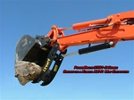 Amulet POWERBRUTE Hydraulic Excavator Thumb for 1-3 Ton Excavators