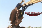 Amulet B.R.U.T. Rigid Bucket Thumb for 16-21 Ton Excavators