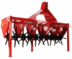 "AR-100 60"" Tractor 3 point hitch Lawn, yard plugger, aerator"