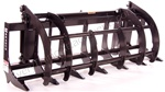 "Bradco 72"" Root Rake for tractors under 55 HP"