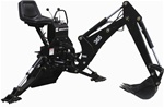 Bradco Compact Tractor Backhoe Model 365 3 Point Hitch Mounted