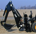 Bradco Skid Steer, Skidsteer, or Tractor mounted Backhoe Model 509B