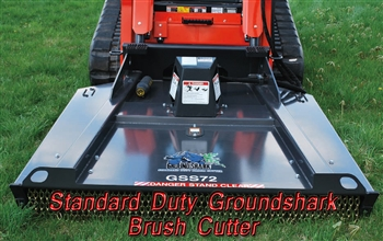 72 Inch Bradco Ground Shark Brush Cutter