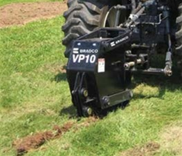 Bradco Tractor 3 Point Category 1 Vibratory Plow Model