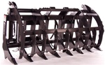 Bradco Heavy Duty Root Rake Grapple for Large Tractor Loaders and Skid Steers