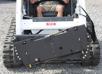 Bradco Skid Steer, Skidsteer, Tilt Attach HD Model 17446, for Universal Skid Steer Quick Attach Hitch