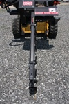 "Bradco 48"" Skid Steer, Skidsteer, Trencher Model 625, 50/50 rock & frost, cup teeth, Universal Skid Steer Quick Attach"