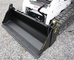 Construction Attachments X-Treme Duty, 4-in-1, Low Capacity Skid Steer, Skidsteer, Bucket