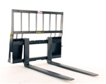 Construction Attachments X-Treme Duty, Skid Steer, Skidsteer, Standard Frame, Regular Lift, Pallet Forks 1PF