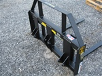 "Construction Attachments 42"" Kubota BX series Pin on pallet forks for LA203 and LA243 Loaders"