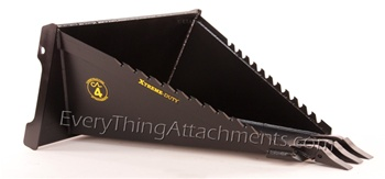 Construction Attachments Severe X-treme Duty Wicked Stump Bucket