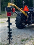 "Tractor Post hole digger 6900 HD for up to 18"" auger size"