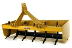 Category I & II Severe XTreme Duty Hinged Back Tractor Box Scraper Box Blade for 50-75 HP