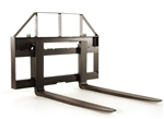 Compact Tractor Pallet Forks by Everything Attachments