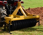 Everything Attachments 5ft Cultipacker, with Category 1 clevis type 3 point hitch and 15in smooth wheels
