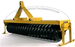 "Everything Attachments 7' Cultipacker, with Category I & II clevis type hitch and 15"" smooth wheels"