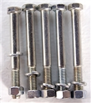 "Post hole digger shear bolts 3/8"" x 3"" grade 5, with 18"" augers only"