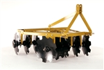 Angle Iron Disc Harrow for Compact Tractors