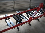 Fred Cain Tractor 11 Shank 3 Point Field Cultivator, Ripper, Tillage Tool