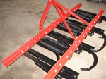 Fred Cain Tractor 19 Shank 3 Point Field Cultivator, Ripper, Tillage Tool