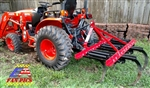 Fred Cain 5 Shank Tractor 3 Point Field Cultivator, Ripper, Tillage Tool