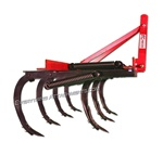 Fred Cain Tractor 7 Shank 3 Point Field Cultivator, Ripper, Tillage Tool