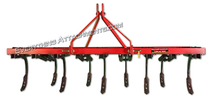 Fred Cain 9 Shank 3 Point Field Cultivator