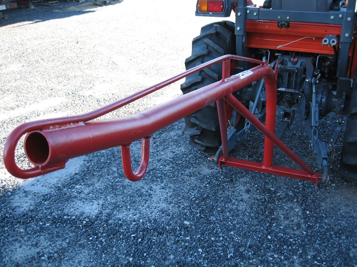 3 Point Tractor Crane : Fred cain tractor boom pole rear mounted crane lift