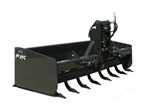 "FFC 440HD 88"" Box Blade with Hydraulically actuated scarifier bar"