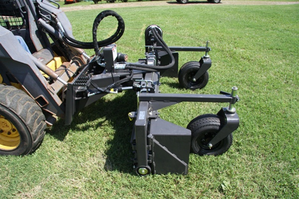 harley rake skid steer skidsteer power box rake m 6h 72 hydraulic