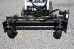 "Harley Rake, Skid Steer Power Box Rake MX7M 84"" Manual Angle"