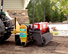 Power Seeder For Use With Harley Rake Tractor Tm 5 Series