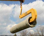 Kenco 3500Sl pipe hook in action