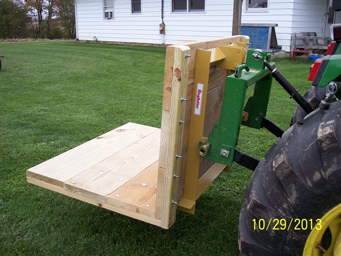 Tractor Carry All Box : King kutter tractor point hitch carry all