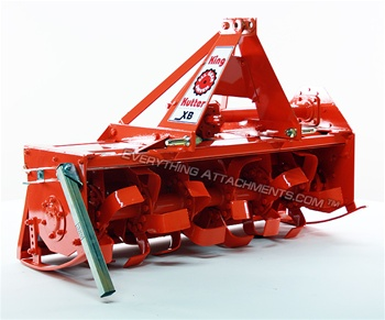 "King Kutter 48"" XB Gear Driven Tiller for Sub Compact Tractors"
