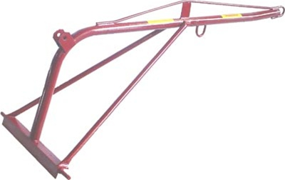 Tractor 3 Point Hitch Boom Pole Boom Lift Rear Mounted